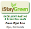 iStayGreen Excellent Rating