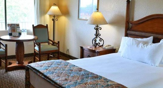 Ojai lodging - EcoRooms with Single Queen Bed